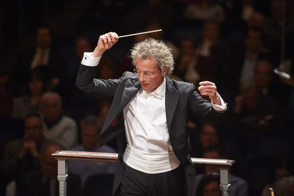 Portrait of Conductor Franz Welser-Möst