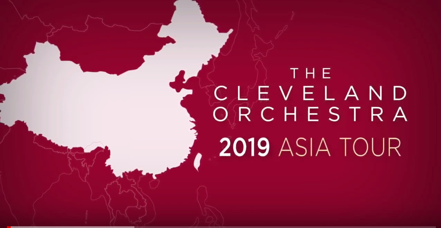 The Cleveland Orchestra and Franz Welser-Möst 2019 Asia Tour