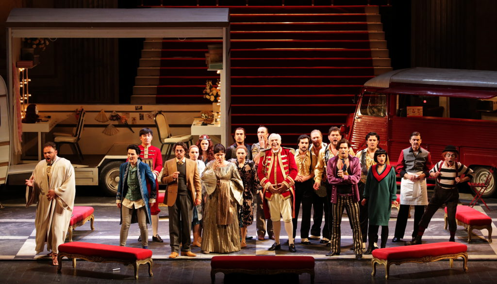 Franz Welser-Möst conducts at Teatro alla Scala Ariadne auf Naxos di Richard Strauss