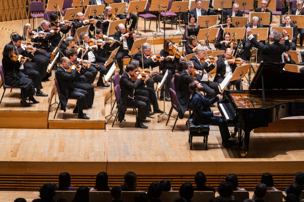 Franz Welser-Möst in Shanghai with The Cleveland Orchestra